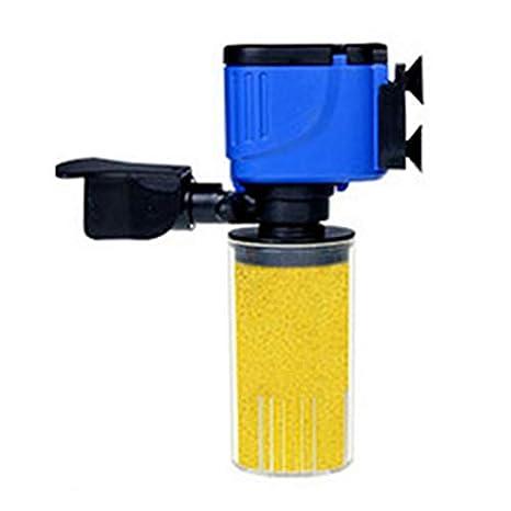 Mouchao 3 en 1 Filtro de Acuario pecera Sumergible Bomba de oxigenación en Spray: Amazon.es: Hogar