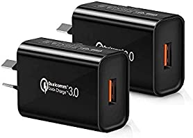 Australia 18W Quick Charge 3.0 Wall Charger, SAA RCM Approved Quick Charge 3.0 USB Wall Charger Portable Adapter(Quick...