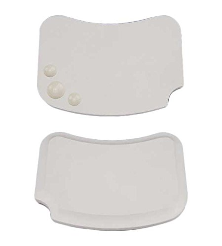 Airgoesin Dental Porcelain Mixing Ceramic Watering Wet Tray Plate