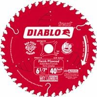 Diablo D0641X 6-1/2 by 40 Finishing Saw Blade 5/8-Inch Arbor