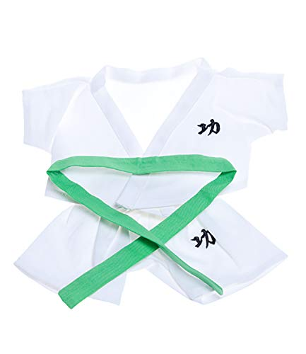 "Karate Outfit with 6 Colored Belts Fits Most 8""-10"" Webkinz, Shining Star and 8""-10"" Make Your Own Stuffed Animals and"