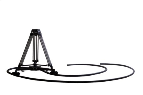 VariZoom VZ-CINETRACSYSTEM Complete Kit with Cinetrac Dolly, TC100A Tripod, and 45-Feet Rubber Track by VariZoom