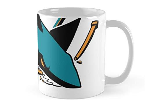 - Blade South Mug San Jose Sharks Mug - 11oz Mug - Features wraparound prints - Made from Ceramic - Best gift for family friends