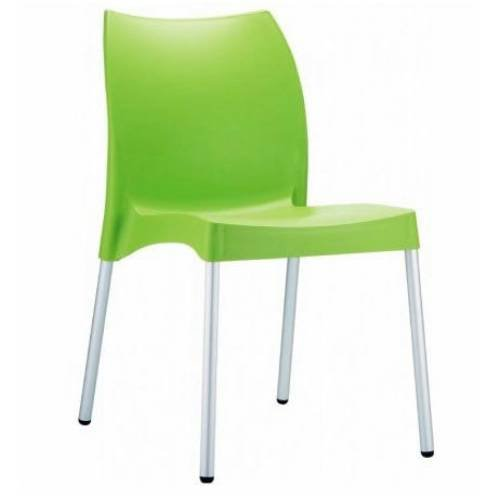 (Compamia Vita Resin Outdoor Dining Chair (Set of 2) - Apple Green)