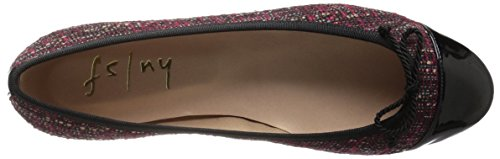 FS French Vanity Sole Sole Red Womens French Black NY q4ga4Tw