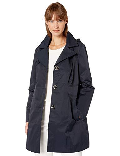 Anne Klein Women's Ladies Button Front rain Transitional Coat