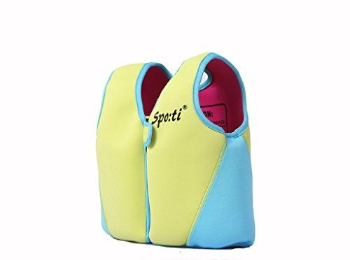 [Child's Swim Small Life Vest 18 Month - 2 Years Colour Yellow] (Buu Costume)