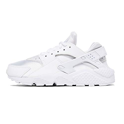 Nike WMNS Air Huarache Run, Women's Trainers, White (White/White), 3 UK (Cheap Nike Air Max For Sale Uk)