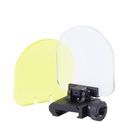 Vertily Sight Lens Sights Lens Screen Cover Shield Tactical Scope Lens Protector for Tactical Scope/Red Dot Sight Lens Toys Baffle Glass Accessories]()