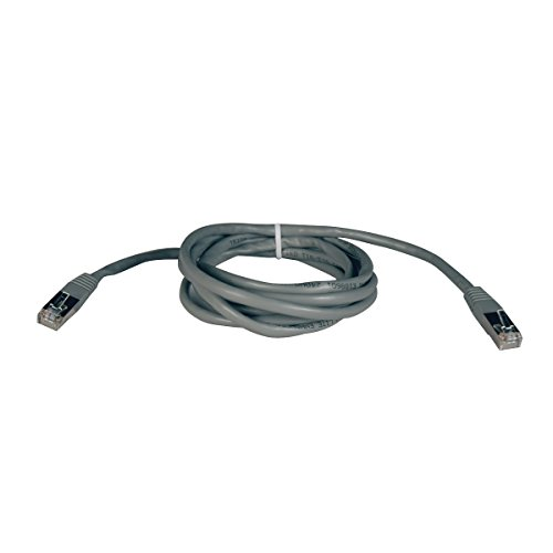 Tripp Lite 25' RJ-45 Molded Shielded CAT-5e Patch Cable Gray N105-025-GY