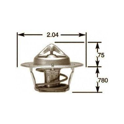 Stant 13958 Thermostat - 180 Degrees Fahrenheit: Automotive