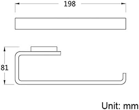 ZLZ- タオルリング浴室壁掛けタオルリングタオルペンダント 実用性