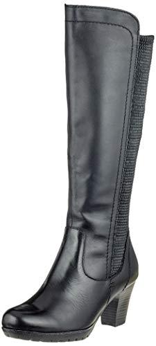 Jana 25502 001 21 8 Noir Botines 001 Femme 8 Black rr6qnfwZ
