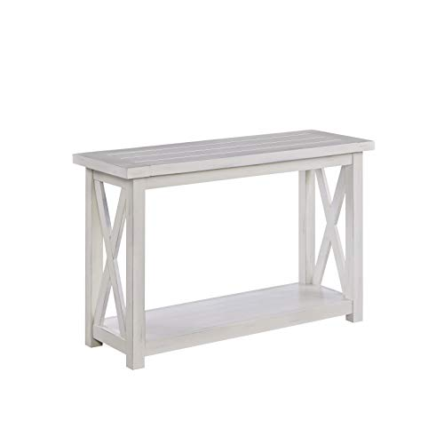 - Seaside Lodge White Console Table by Home Styles