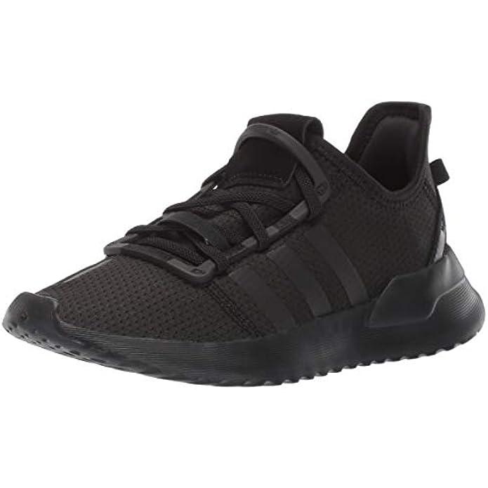 adidas unisex child U_path J (Big Kid) Running Shoe, Black/Black/White, 4.5 Big Kid US