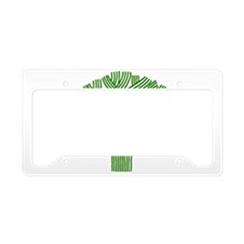 - CafePress Oakland Tree Green Aluminum License Plate Frame, License Tag Holder