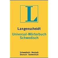 Langenscheidts Universal-Wörterbuch Schwedisch