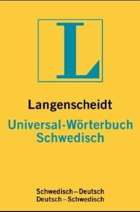 Langenscheidts Universal Wörterbuch Schwedisch