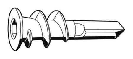 Drywall Anchor, Self Drill, 6-10, PK100