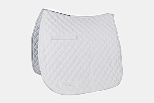 Union Hill Dressage Pad (Union Hill CoolMax Dressage Pad in White/White)