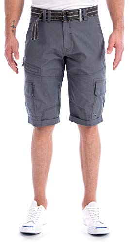 (Projek Raw Men's Cargo Short (Grey, 30))