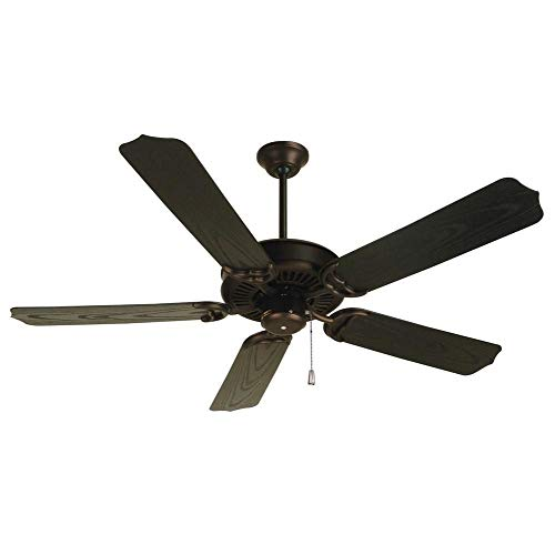 Craftmade PF52OB 52-Inch Porch Fan with B552S-OBR Outdoor, Oiled Bronze