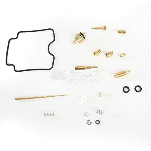 2006 Iron Horse - Tuning_Store Moose Yamaha YFM660F Grizzly 4x4 Carburetor Carb Repair Kit 2006-2008 The Best Accessories for Tuning and Upgrading Your Iron Horse