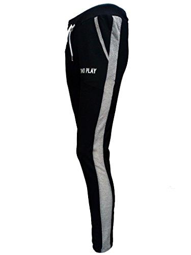 Pantalone Sportivo Donna TWO PLAY Pant.di Tuta in Felpina Stretch Nero tg M