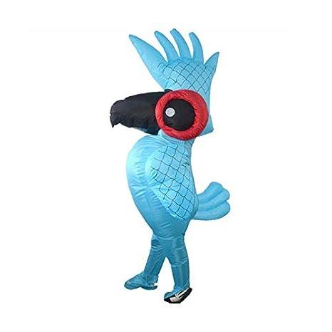 Takefuns - Disfraz de Loro Hinchable para Halloween: Amazon.es ...