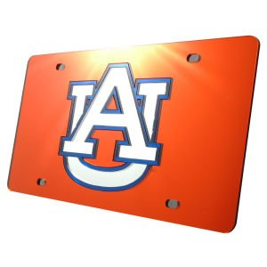 WinCraft Auburn University S00201 Acrylic Classic License Plates