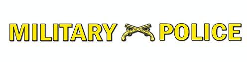 (US Army Military Police Window Strip Vinyl Transfer Window Bumper Sticker Decal 3.8