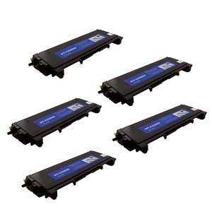 5 Pack Brother TN-350 (TN350) Toner Cartridge Compatible 2,500 Yield Black, Office Central