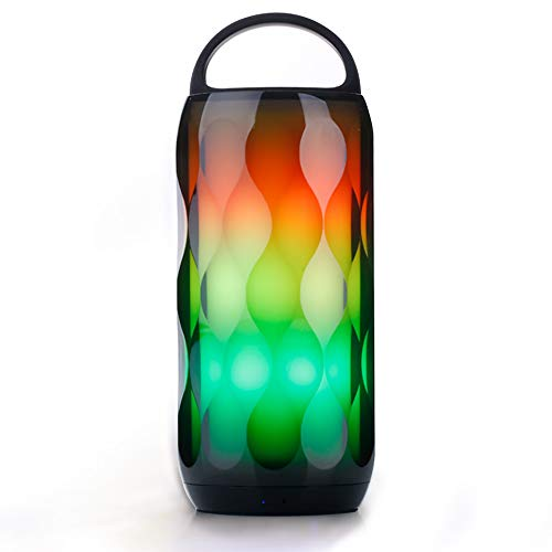 Greadio LED Bluetooth Speaker RGB Touch Night Light 5W Speaker