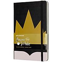 Caderno, Moleskine, Coroa, Preto, Grande
