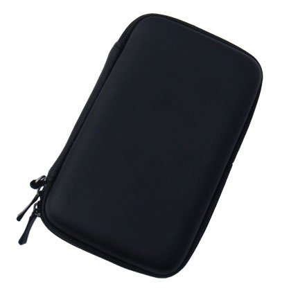 OSTENT Hard Case Bag Carry Travel Pouch Compatible for Nintendo DSL NDS Lite Color Black