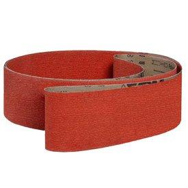 VSM Abrasive Belt, 300452, Ceramic, 4'' X 24'', 120 Grit - Pkg Qty 10, (Sold in packages of 10) by VSM
