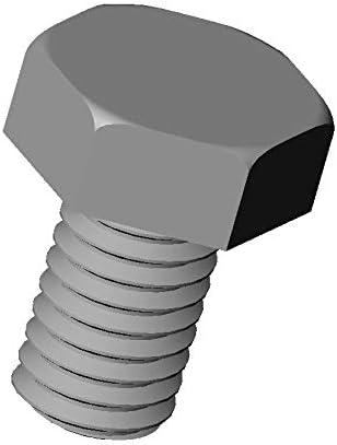20 pezzi M6 chiave 10 mm lunghezza = 50 mm plastica poliammide PA6.6 isolante Vite nylon con testa esagonale DIN933 diam VHX650-M ajile