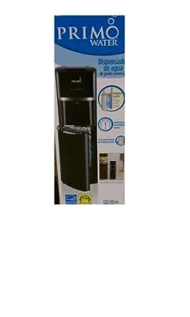 Bottom-loading Hideaway Bottle Hot/Cold Water Dispenser in Black