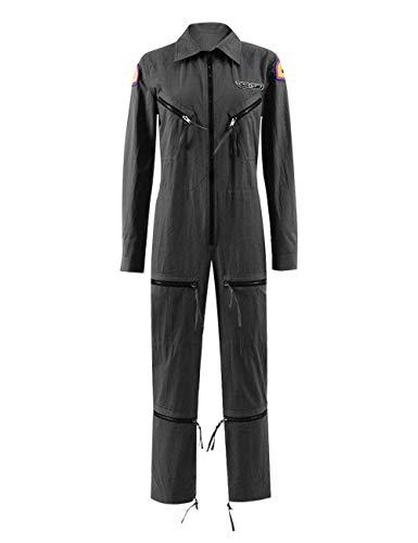 Womens Gray Jumpsuit Cosplay Sci-Fi Older Movie Costume for Halloween (Women XS, Ellen Ripley Jumpsuit) ()