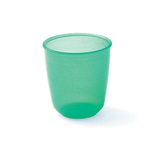 plastorex Gobelet Micro-Ondable en Polypropylè ne Vert Menthe Translucide 15 cl 8402 18