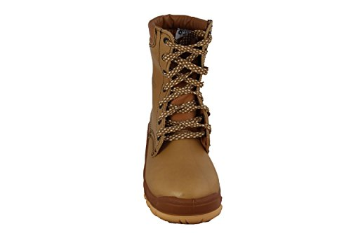 Calzado de seguridad JALOSBERN STEEL SAS-JJB21 piel, color marrón Beige - beige