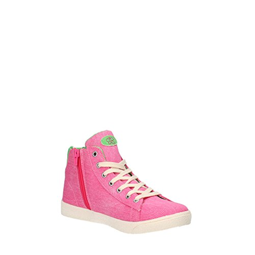LULU chica sneakers Rosa / Azul Canvas Rosa