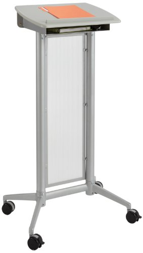 New Safco Products 8912GR Impromptu Lectern, Gray free shipping