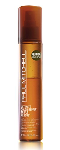 Color Treated Formula (Paul Mitchell Ultimate Color Repair Triple Rescue Hair Spray for Unisex, 5.1 oz)