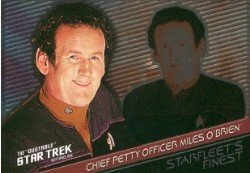 (Quotable Star Trek Deep Space Nine Starfleets Finest F6 Chase Card #305)