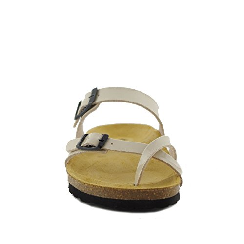 PLAKTON Women's Clogs & Mules Beige RcdNO4ob