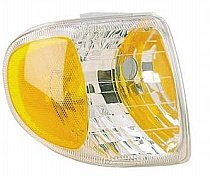 (Go-Parts » 1998-2001 Mercury Mountaineer Corner Light Assembly Replacement/Lens Cover - Right (Passenger) F87Z 13200 AB FO2521160)