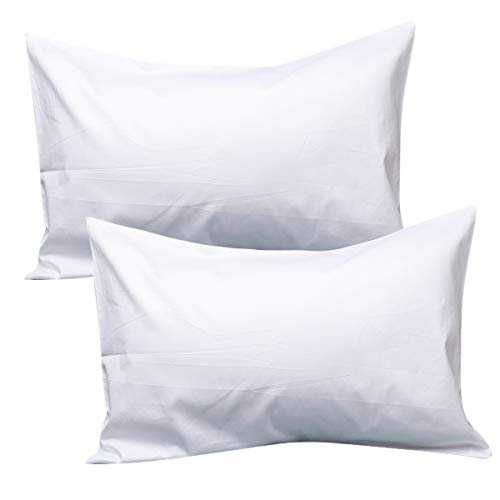 UOMNY Kids Toddler Pillowcases100% Natural Cotton Travel Pillowcase Cover with Envelope Closure 2 Pcs 14×20 Baby Pillow…
