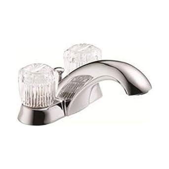 7.3 x 7 x 12 7.3 x 7 x 12 Two Handle Chrome 1.2 Gpm Delta 3560935 Bathroom Faucet Lead Free