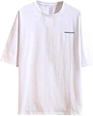 メンズ シャツJopinica 夏五分袖日系ゆったりTシャツ 安い 大きいサイズtshirt M~5XL ブラック・ダークグレー・ホワイト ストリート系 令和の最新 かっこいい 男の子